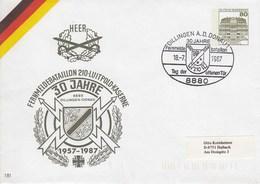 PU 117/299  Heer - 1957-1987 30 Jahre Fernmeldebataillon - 210 Luitpold-Kaserne , Dillingen. A.D. Donau 1 - BRD