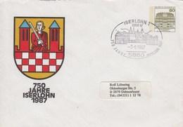 PU 117/301b  750 Jahre Iserlohn 1987, Iserlohn 1 - BRD