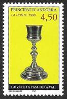 ANDORRE  1998 -  YT 506  -  Calice - NEUF** - Cote  2.90e - Andorre Français