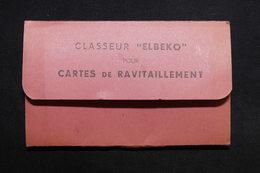 FRANCE - Classeur Pour Carte De Ravitaillements + Divers Documents, Période 1946/49 - L 31727 - Alte Papiere