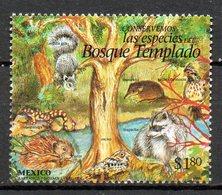 MEXIQUE. N°1684 Oblitéré De 1996. Ecureuil/Castor/Raton Laveur. - Rodents