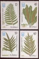 Tuvalu 1988 Ferns Plants MNH - Végétaux