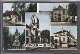 Carte Postale 78. Verneuil-sur-Seine  Très Beau Plan - Verneuil Sur Seine
