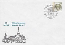 PU 117/311  25 Jahre Briefmarkenfreunde Ratingen 1962, E.V., Ratingen 1 - BRD