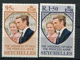 Seychelles ** N° 305/306 - Mariage De La Princesse Anne D'Angleterre - - Seychelles (1976-...)