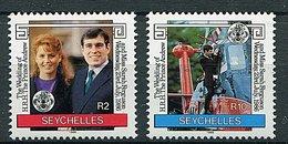 Seychelles ** N° 611/612  - Mariage Du Prince Andrew Et De Miss Sarah Fergusson - - Seychelles (1976-...)