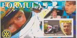 GUINEE BLOCS FEUILLETS : MIKA HAKKINEN - Auto's