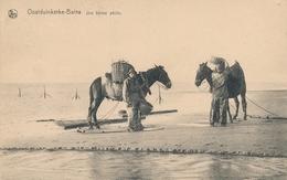 CPA - Belgique - Oostduinkerke - Une Bonne Pêche - Oostduinkerke