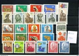 Berlin Jahrgang 1967/68, Komplett, 299/25, Postfrisch, MNH ** - Ungebraucht