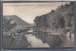 Carte Postale 88. Etival-Clairefontaine  La Meurthe à La Vanne Du Pont   Très Beau Plan - Etival Clairefontaine