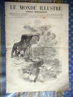 LE MONDE ILLUSTRE 05/01/1878 RUSSIE BULGARIE JAPON INSURRECTION ORIENT LIX PONT AVEN GRANDSIRE GUSTAVE COURBET - Newspapers
