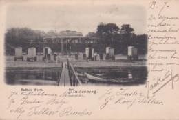 2604175Muiderberg, Badhuis Werth. Rond 1900. - Holanda