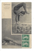23006 - Challamel Original Contorsionniste Equilibriste 1914 (attention Pli) - Artistes
