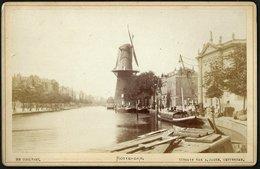 Nederland / Netherlands: Rotterdam, De Coolvest (Kabinetfoto) Cca1880 - Plaatsen