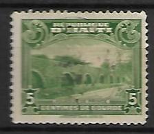 HAITI    -   1933 .  Y&T N° 268B Oblitéré.  Acqueduc De Prince - Haiti