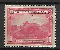 HAITI    -   1933 .  Y&T N° 269A Oblitéré.  Fort National - Haiti