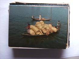Bangladesh Bamboo Made Handicrafts On Boat - Bangladesh