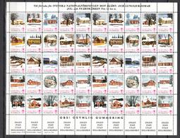 Sweden 1976-1986,10  Full Sheets,jul,christmas,kerstmis,weihnachten,noël,navidad,natale,READ,,MNH/Postfris(C408) - Kerstmis