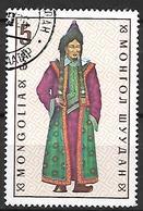 MONGOLIE    -    Costume Traditionnel,  Oblitéré - Mongolie