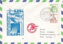 PU 208/3  Ausstellung Unsere Luftwaffe 84 Mit Heeres - Und Marineflieger - ILA`84, Hannover 42 Flughafen - BRD