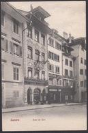 CPA  Suisse, LUZERN, Hotel Du Cerf - LU Luzern