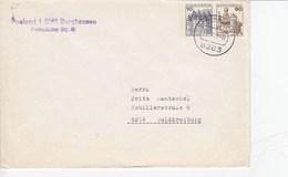 PU 213/1   Blanko Umschlag Mit 10+60 Pf  - Burgen Und Schlösser, BurgHausen - BRD