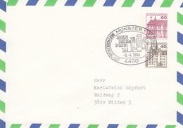 PU 221/1    Blanko Umschlag Mit 60+40 Pf  - Burgen Und Schlösser, Münster 1 - BRD