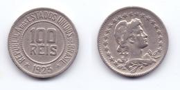 Brazil 100 Reis 1923 - Brésil