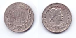 Brazil 100 Reis 1926 - Brazil