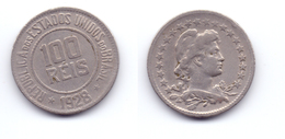 Brazil 100 Reis 1928 - Brazil