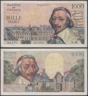 France - Billet 1000F 36.5.1954 - Bon état  (DD) DC3405 - France