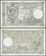 Belgique - Billet 1000F 26.08.43 - Bon état  (DD) DC3406 - [ 2] 1831-... : Regno Del Belgio