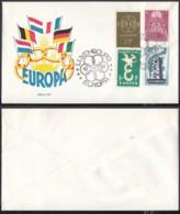 Luxembourg 1959 -  Lettre Philatélique Europa Nº533+ Nº533 Défauts Petite Tache Verso (BE) DC 3419 - FDC