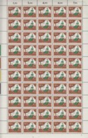 BRD 485-488, 4 Bogen (5x10), Postfrisch **, Formnummer 2-1-2-2, Abarten, Wohlfahrt: Aschenputtel 1965 - BRD