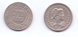 Brazil 200 Reis 1929 - Brésil