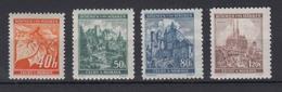Böhmen + Mähren 38-41 Lindenzweig Und Landschaften Kompl. Satz  Postfrisch - Besetzungen 1938-45