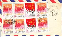 Vietnam Air Mail Cover Sent To Denmark 4-5-1977 - Vietnam