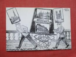 1983  Bruxelles  Post Card Notice     Ref 3415 - Advertising