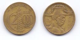 Brazil 2.000 Reis 1938 Duke Of Caxias - Brésil
