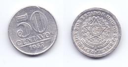 Brazil 50 Centavos 1957 - Brazil