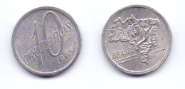 Brazil 10 Cruzeiros 1965 - Brazil