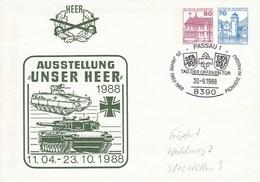 PU 231/2 Heer - Ausstellung Unser Heer 1988, Passau 1 - BRD