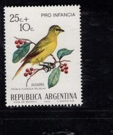 782389640 1972 SCOTT B56 B57 POSTFRIS  MINT NEVER HINGED EINWANDFREI  (XX) -  BIRD TYPE - Argentine