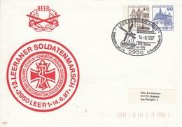 PU 249/2  Heer - 13.Leerander Soldatenmarsch 1987, Leer, Ostfriesland 1 - BRD