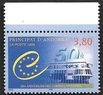 ANDORRE  1999-  YT 515  -  Conseil De L'Europe  - NEUF** - Cote  2.50e - Andorre Français