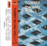 """The Who  """"  Tommy Vol. 1 """" - Cassettes Audio"""