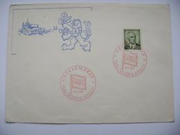 Commemorative Postmark 19.VI.1946 Prague Castle Election Of The President, Pres. Benes 1,60 Kcs, Mi 467 - Tschechoslowakei/CSSR
