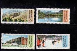 782397443 1977 SCOTT 1151 1152 1153 1154 POSTFRIS  MINT NEVER HINGED EINWANDFREI  (XX) - LANDSCAPES - Argentine