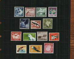 NAURU - QEII - 1966 - POST DECIMAL - DEFS - MNH - 14 Stamps - Nauru