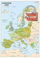 D37263 CARTE MAXIMUM CARD FD 2004 NETHERLANDS - MAP OF EUROPE - MEMBER EUROPEAN UNION - LATVIA CP ORIGINAL - Lettonie
